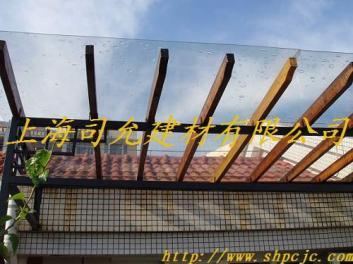 供应 上海松江遮阳雨棚用透明4mmPC耐力板