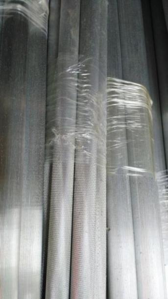 6061-T6国标环保铝棒 网纹拉花铝棒
