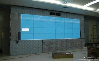 拼接屏供应厂家55寸3.5拼缝700亮度液晶拼接显示大屏