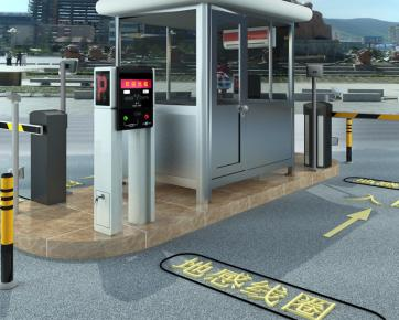 新蓝智能停车场系统