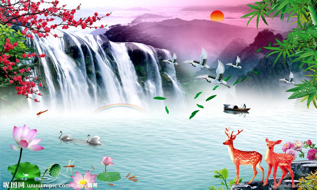 山水画大全风景图片