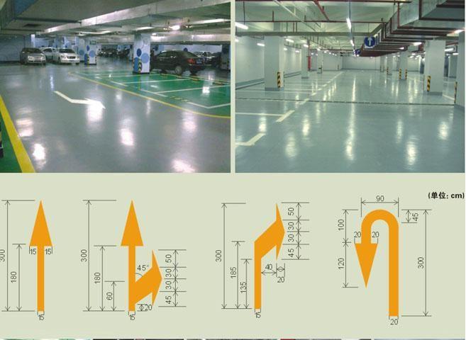 晋城手工划线,机器划线,停车位划线,免费规划设计图纸图片