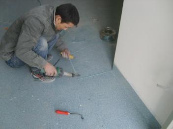 专注PVC地板工程 pvc运动塑胶地板