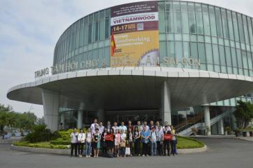 第12届越南国际木业及木工机械展览会(VIETNAMWOOD 2017)