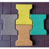 厂家直销橡胶防滑工字型颗粒地砖