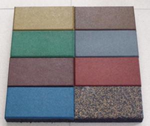 厂家直销橡胶防滑条形颗粒地砖