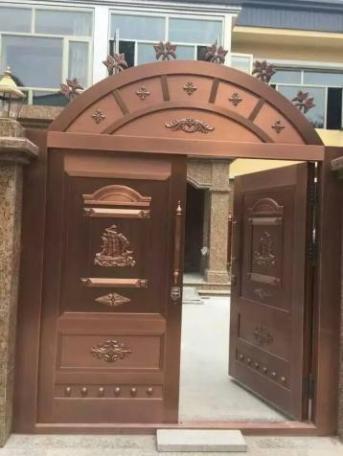 安徽铜门安装