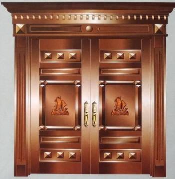 六安铜门安装|六安家用铜门安装|六安别墅铜门安装