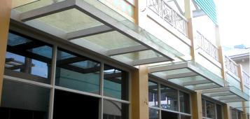 邯郸玻璃雨棚安装