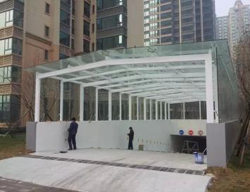 邯郸玻璃雨棚厂