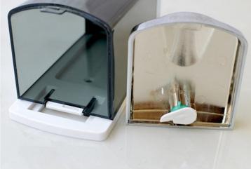 批量出售v-8122 手动皂液器 双头自动洗手液器 给皂器 皂液盒