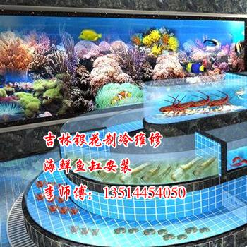 吉林鱼缸安装,吉林海鲜鱼缸安装