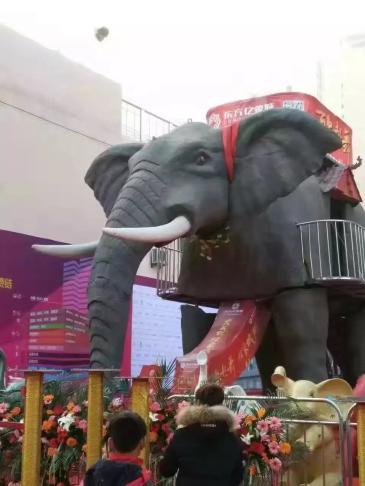机械大象出租牛奔机械大象制作