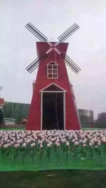 荷兰风车模型出租/荷兰风车模型制作