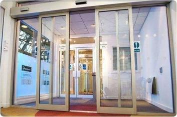 太原玻璃门安装