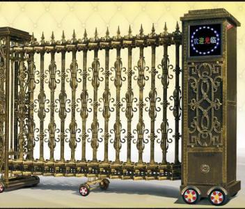 兰州电动伸缩门|兰州电动伸缩门安装