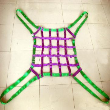 尼龙吊网,钢丝绳吊货网,扁带网兜,抛石网