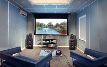 西安航天广电家庭影院  私人影院   家庭影院设计