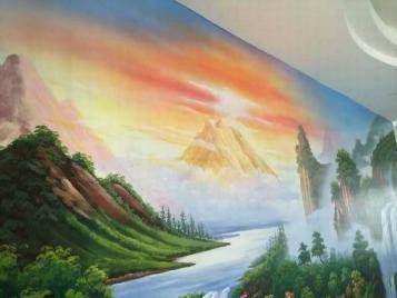 四川墙绘公司,四川专业墙绘公司