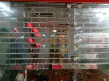 株洲水晶门安装