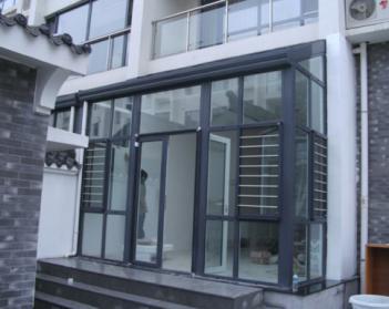 西宁玻璃门
