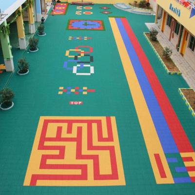 悬浮拼装地板_篮球场悬浮地板_幼儿园悬浮地板图片