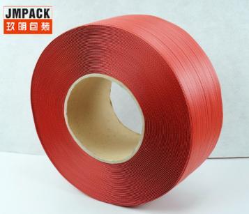厂家热销红色PP打包带 瓷砖厂专用打包带 拉力强质量上乘