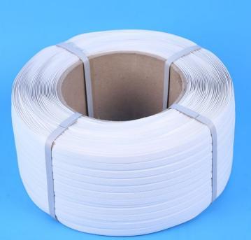 现货供应白色环保PP打包带 塑料捆扎带 优质防水包装带 量大价优