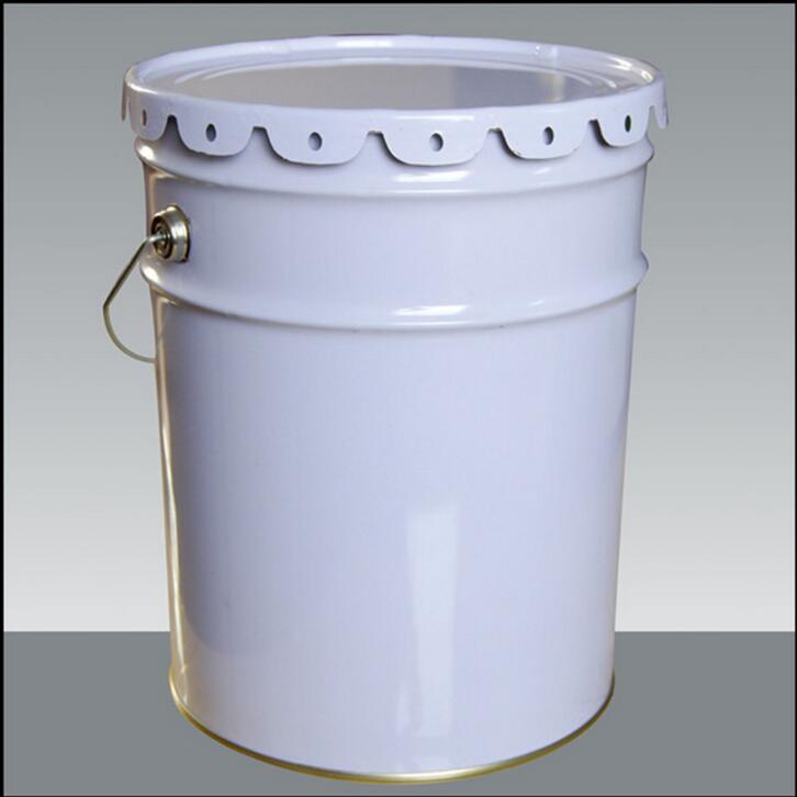 20升方便桶(涂料桶,提篮桶)特点: 方便桶使用优质马口铁材质,在化工包装行业中对任何化工产品的耐腐蚀最好,在遇到雨水天气耐生锈效果最好。 方便桶即为圆形桶的一中,为敞口式桶,装东西方便,且承重大,适用于中型客户端的需求,使用范围广 可用于液体 半液体 粉状 固体等原料的装载运输。 方便桶的上底直径大 下底直径小在运输存放过程中可摞起来不易歪倒。 方便桶尺寸:桶高:370mm。上口内径:285mm。下底直径:275mm。桶厚度:0.