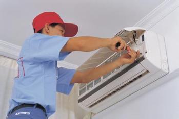 盐城空调维修,盐城空调打孔