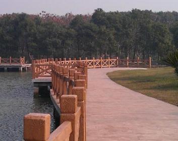 2017广东省水泥仿木栏杆生产厂家