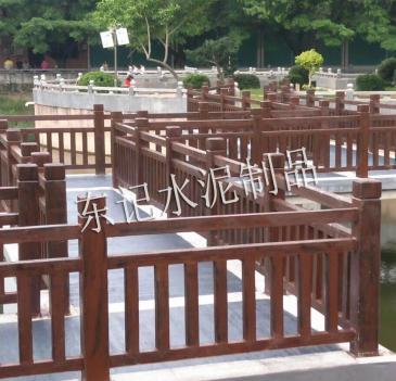 广东省水泥仿木制品厂家#水泥仿木制品价格