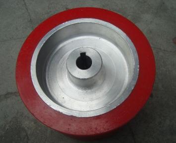 供应武汉包胶滚轮,湖北武汉聚氨酯胶轮专业生产加工厂家