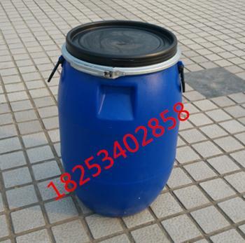 用60kg大口塑料桶或60升铁箍化工桶