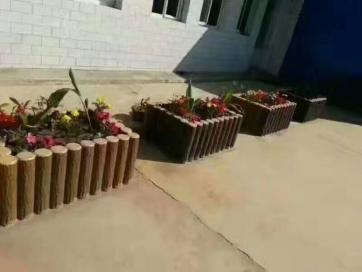广西省水泥仿木花架