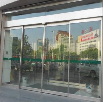 温州自动门:自动门安装时的防护措施