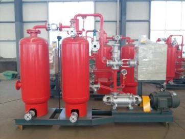 使用蒸汽凝结水回收装置的企业得到了环保节能