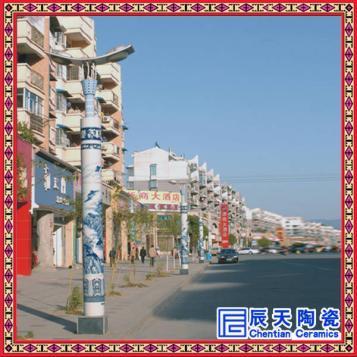 中式景观灯柱户外3米4米5米6米广场灯公园灯小区灯景区圆柱灯