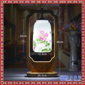 现代中式陶瓷灯具吸顶灯景德镇陶瓷灯具古典卧室客厅餐厅陶瓷灯具
