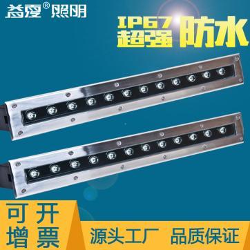 贵州省地埋灯定制批发|LED长条形地埋灯