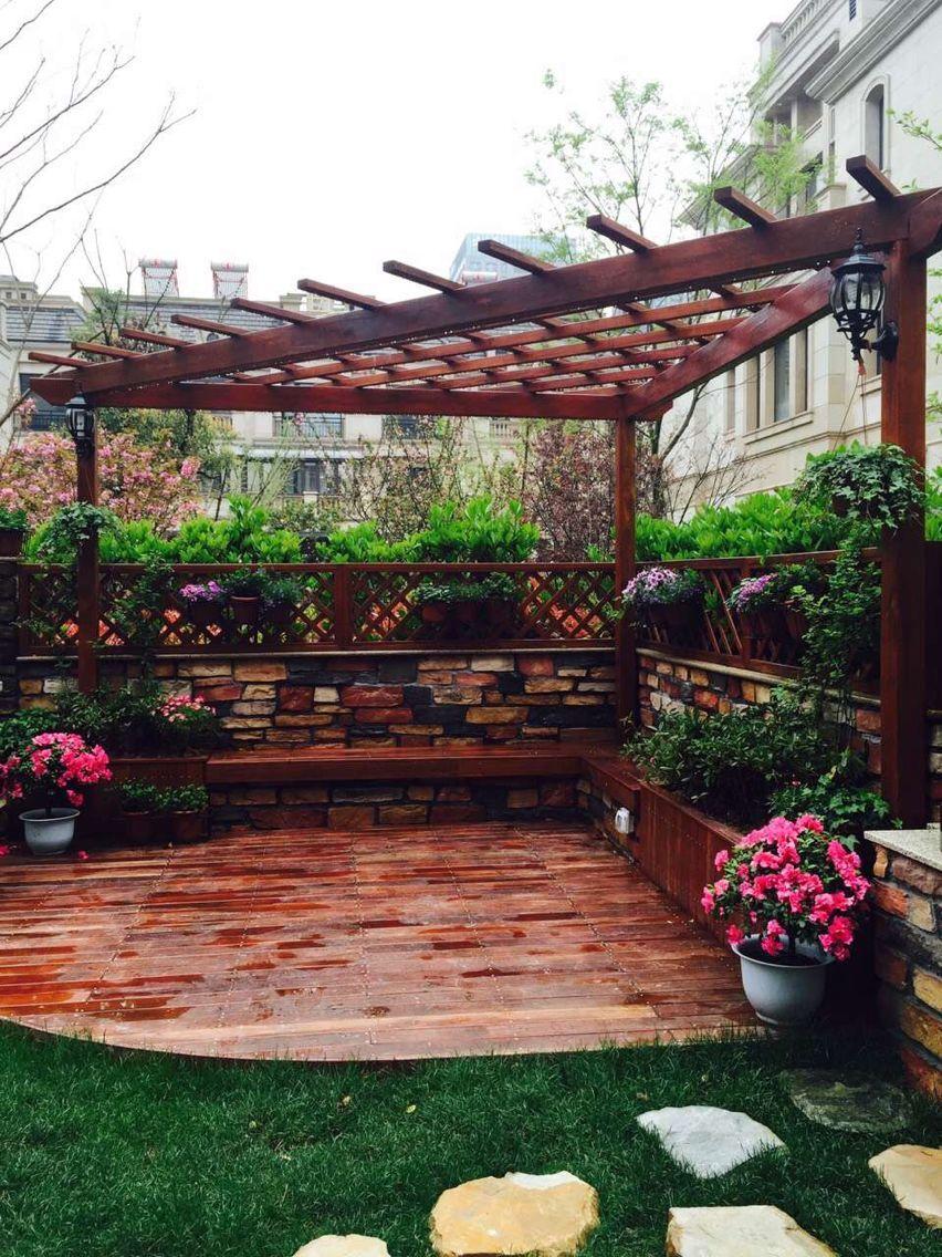 宁波别墅花园设计\/庭院设计\/屋顶花园设计施工