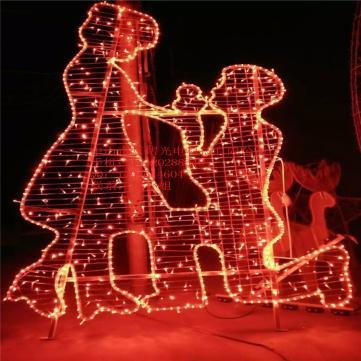 供应七夕节装饰造型灯 浪漫求婚造型灯 景观灯