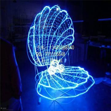 厂家供应LED造型灯 立体贝壳造型灯 景观灯