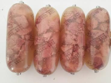 水晶肠水晶肴肉水晶肘花肠原料皮冻粉耐高温