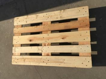 无锡澎湃厂家 定做货架实木托盘 松木加固循环卡板木质栈板