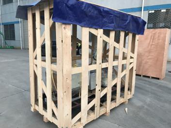 无锡澎湃厂家专业 定制花格木箱加工 定做出口设备格子木箱