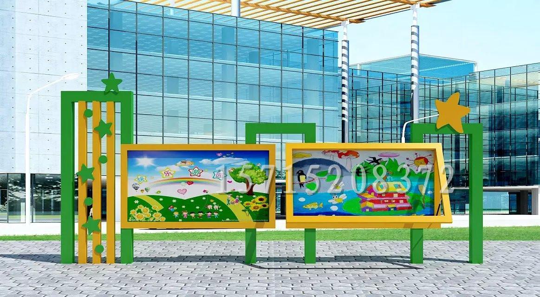 山东宣传栏 山东学校宣传栏校园橱窗幼儿园宣传栏小学