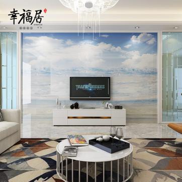 瓷砖背景墙面生产定制厂家-幸福居品牌