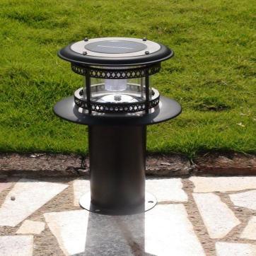 太阳能草坪灯户外防水花园别墅欧式铝草地灯 地插灯