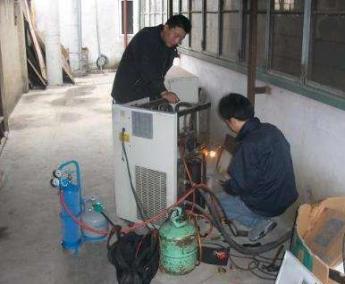 临桂空调维修准确的加氟方法